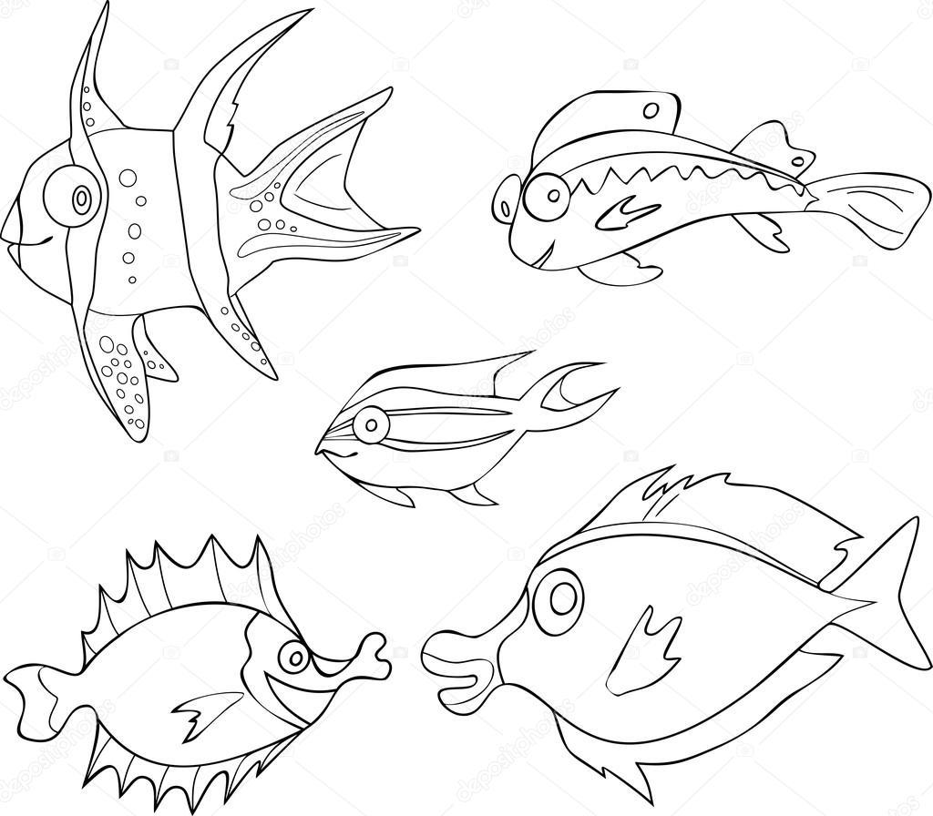 Disegni pesci tropicali da colorare disegni da colorare for Disegni di pesci da colorare e stampare gratis