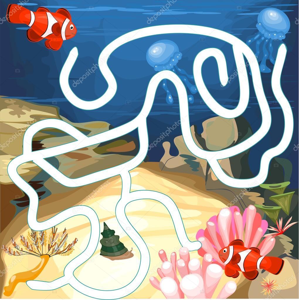 Underwater World maze