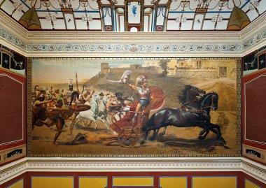 The Triumph of Achilles, in Achilleion palace, Corfu, Greece