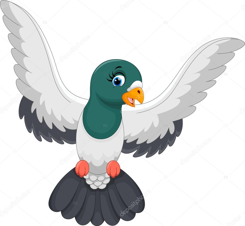 Pigeon illustration - photo#35