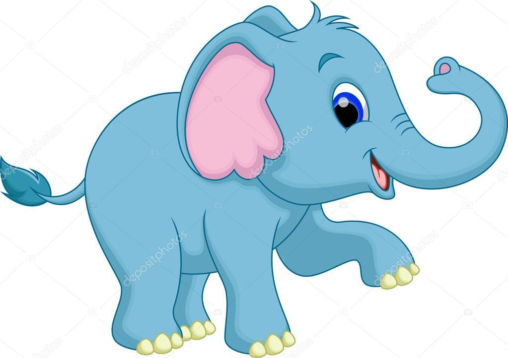 Elephant Cartoon Vector Image By C Irwanjos2 Vector Stock 53083623