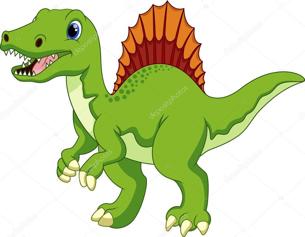 Dibujos animados de dinosaurios — archivo imágenes