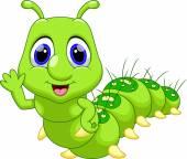 Photo Funny caterpillar cartoon