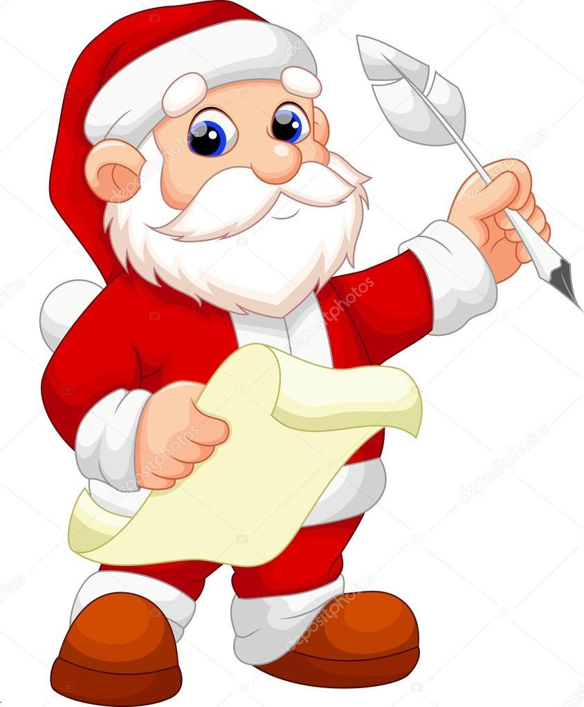 Imagenes De Papa Noel Animado.Dibujos Animados De Santa Claus Archivo Imagenes