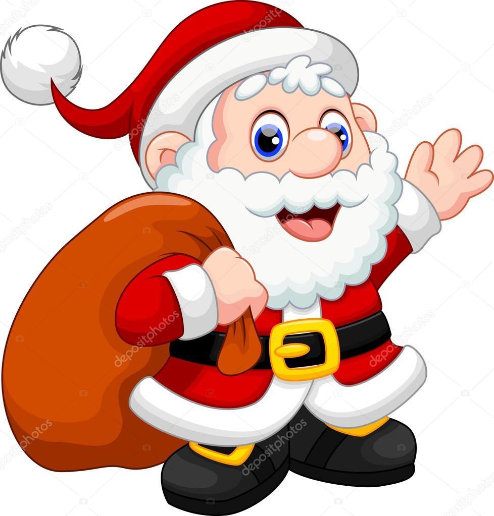 dibujos animados de santa claus archivo im u00e1genes Cute Reindeer cute santa face clipart