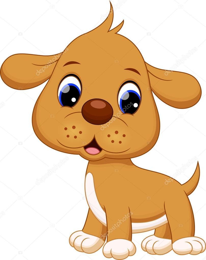 Small Comic Dog