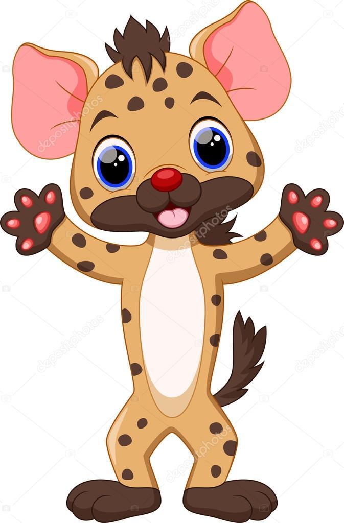 Resultado de imagen de hiena cute