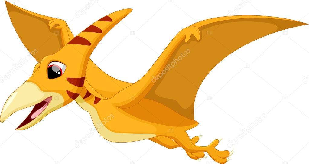 cute pterodactyl cartoon � stock vector 169 irwanjos2 85855472