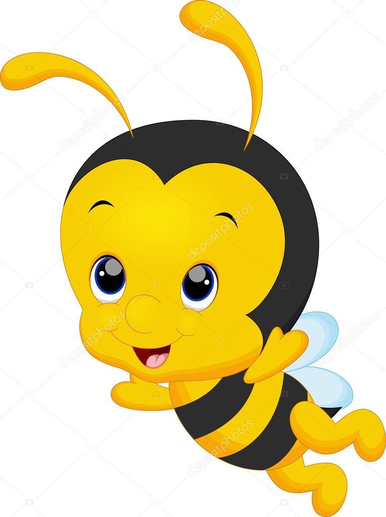 Baby bee cartoon