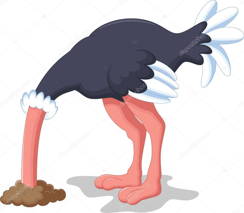 ¡Los intelectuales, deben dejar de vivir como topos incapaces de mirar al Cielo! Depositphotos_85856524-stock-illustration-ostrich-hides-its-head-in