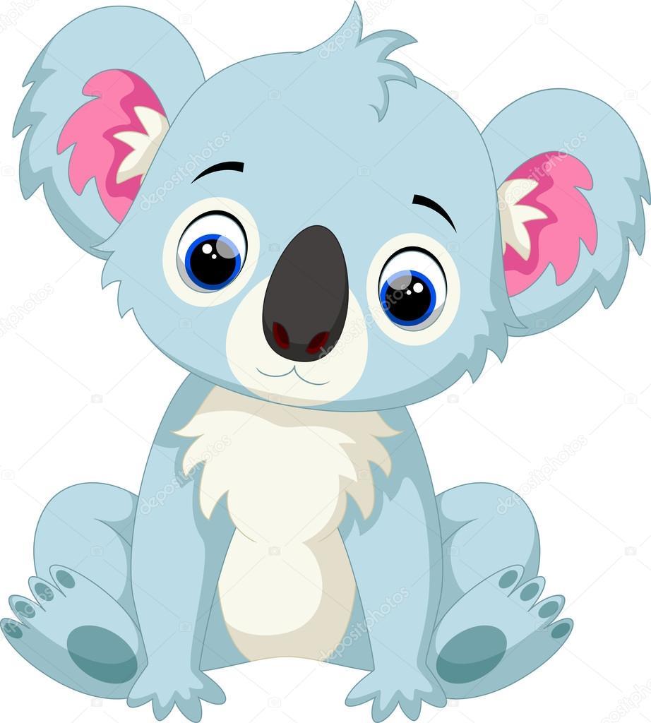 Cartone animato carino koala u vettoriali stock irwanjos