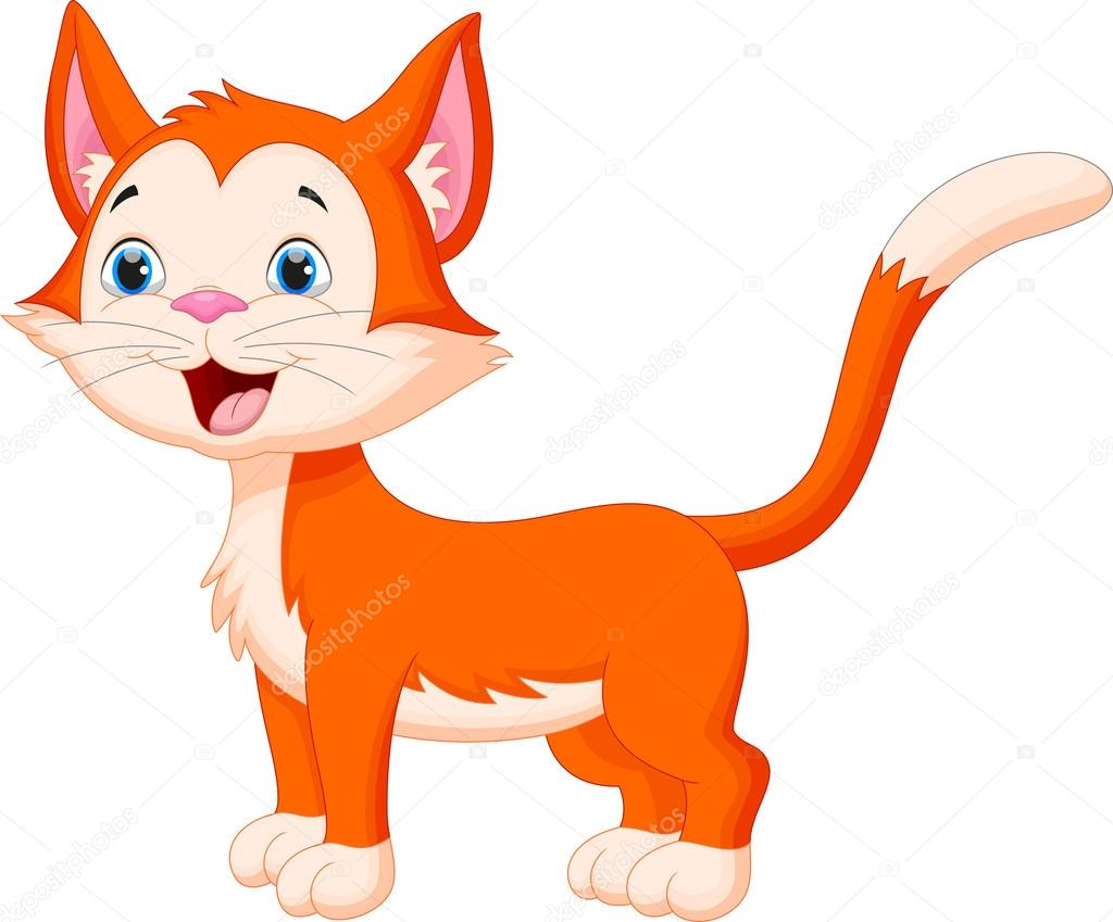 caricatura lindo gato vector de stock  u00a9 irwanjos2 90645472 gator clip art silouette gator clip art free