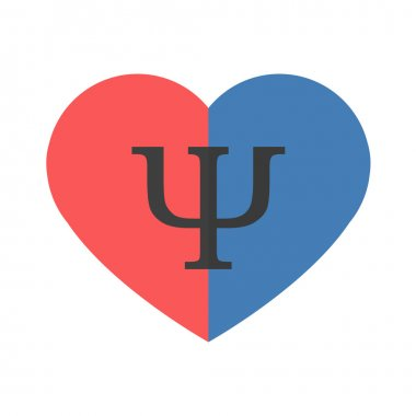 Psychology of relationships symbol