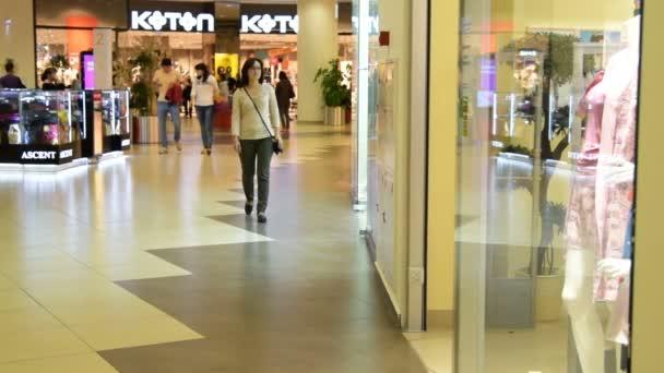 Going for shopping in trade center