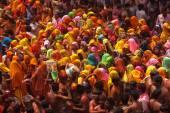 Colorful holi festival in India