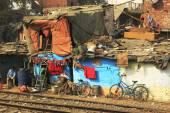 Slums in Delhi,india