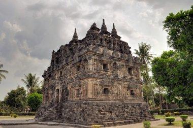 Candi Sari Buddhist temple Yogyakarta, Indonesia