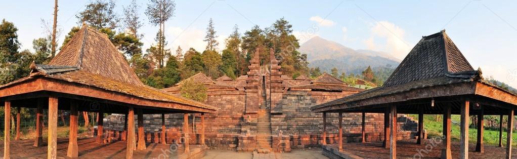 Candi Cetho Hindu Temple Java Indonesia Stock Photo C Flocutus