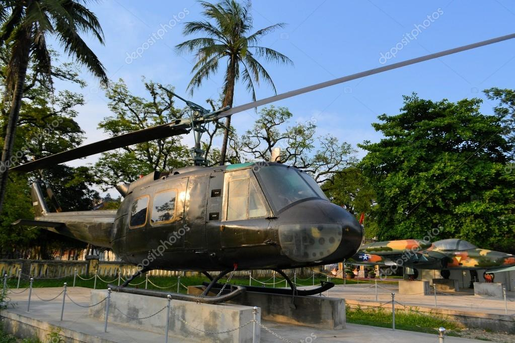 US Military helicopter used during the Vietnam War