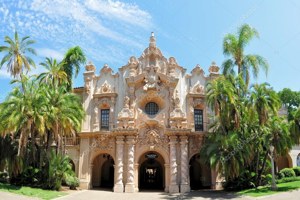 Spanish architecture Balboa park, San Diego California