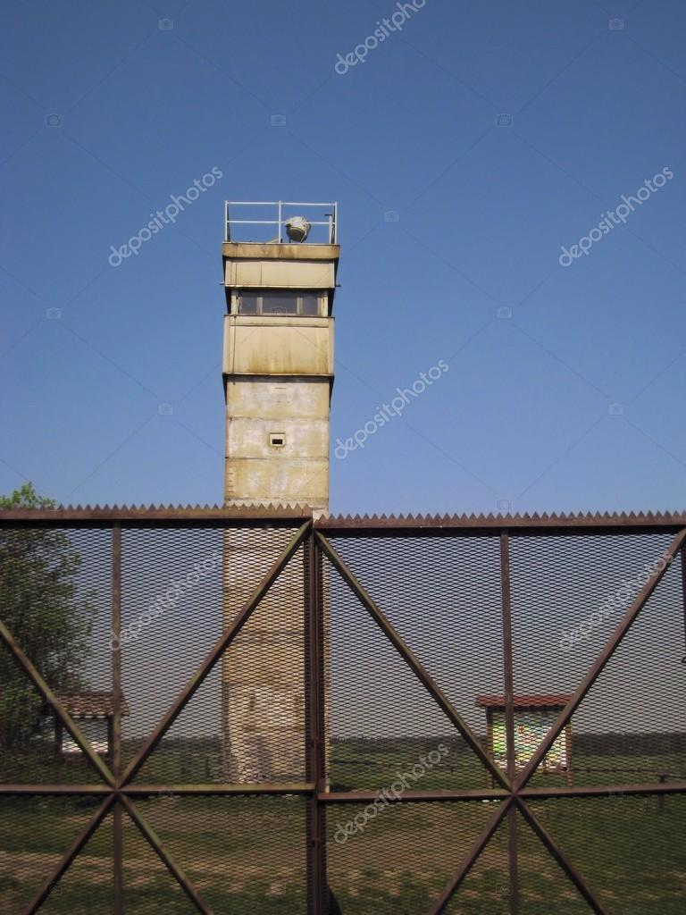 Watch Tower at West-East Border German Democratic Republic