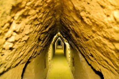 Tunnels under Cholula biggest man made pyramid