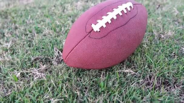 Footage Lassú mozgás: amerikai futball mesterséges gyep