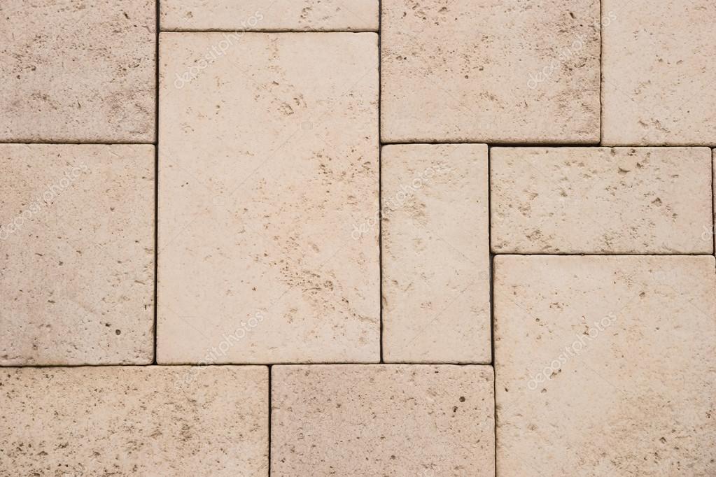 Sandstein Fliesen Wand Textur Und Hintergrund Stockfoto