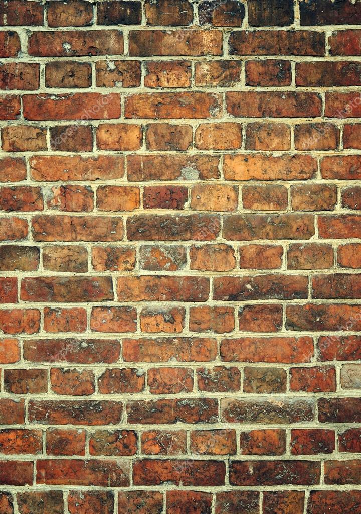 Backstein Mauer Hintergrund. Freiraum Für Ihre Ideen U2014 Foto Von AlisLuch