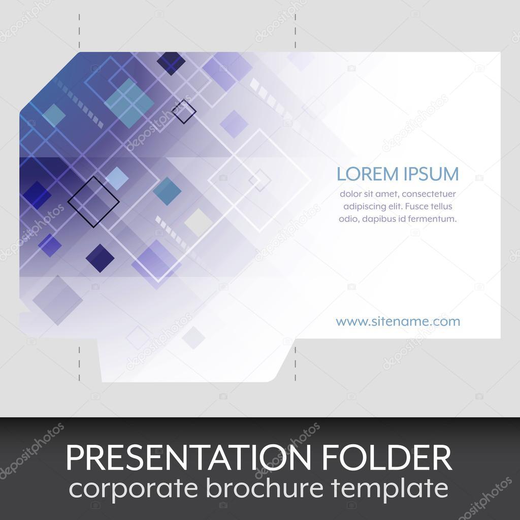 Presentation folder design template stock vector ftotti presentation folder design template stock vector saigontimesfo