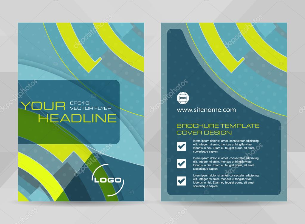 Flyer Design A4 Size Cover Brochure Template Or Corporate Banner