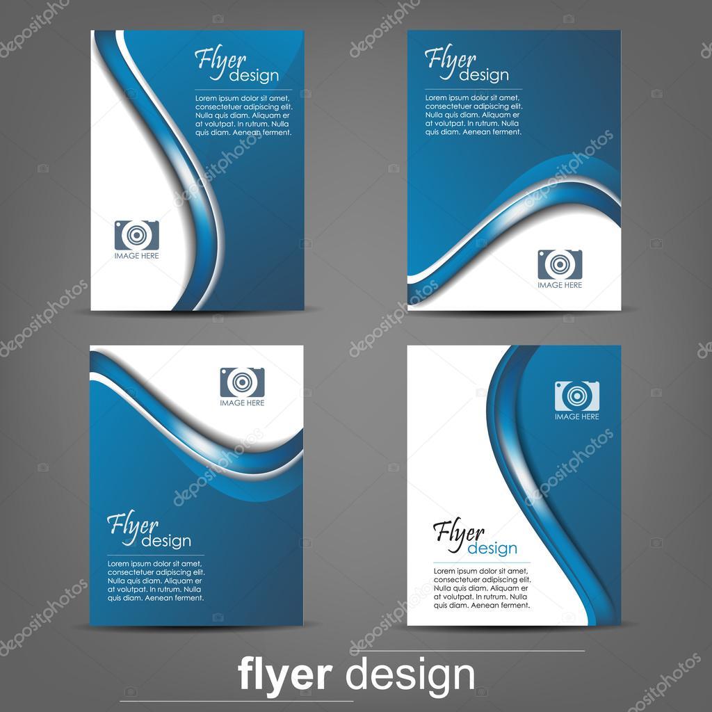Business Flyer Templates | Satz Von Business Flyer Template Firmen Banner Cover Design