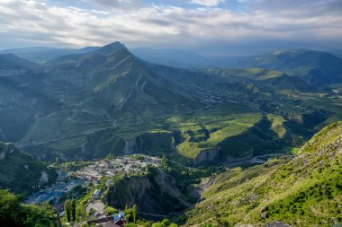Mountain landscape in Dagestan