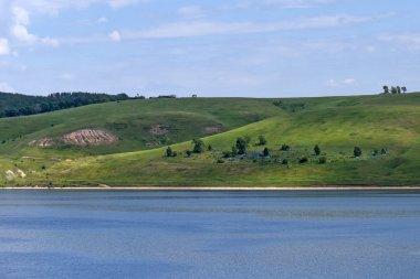 Panoramic view of Volga