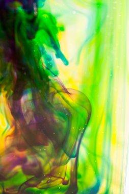 """Картина, постер, плакат, фотообои """"Абстрактная композиция с чернилами. Красивый фон, текстуры и цвета"""", артикул 100092822"""