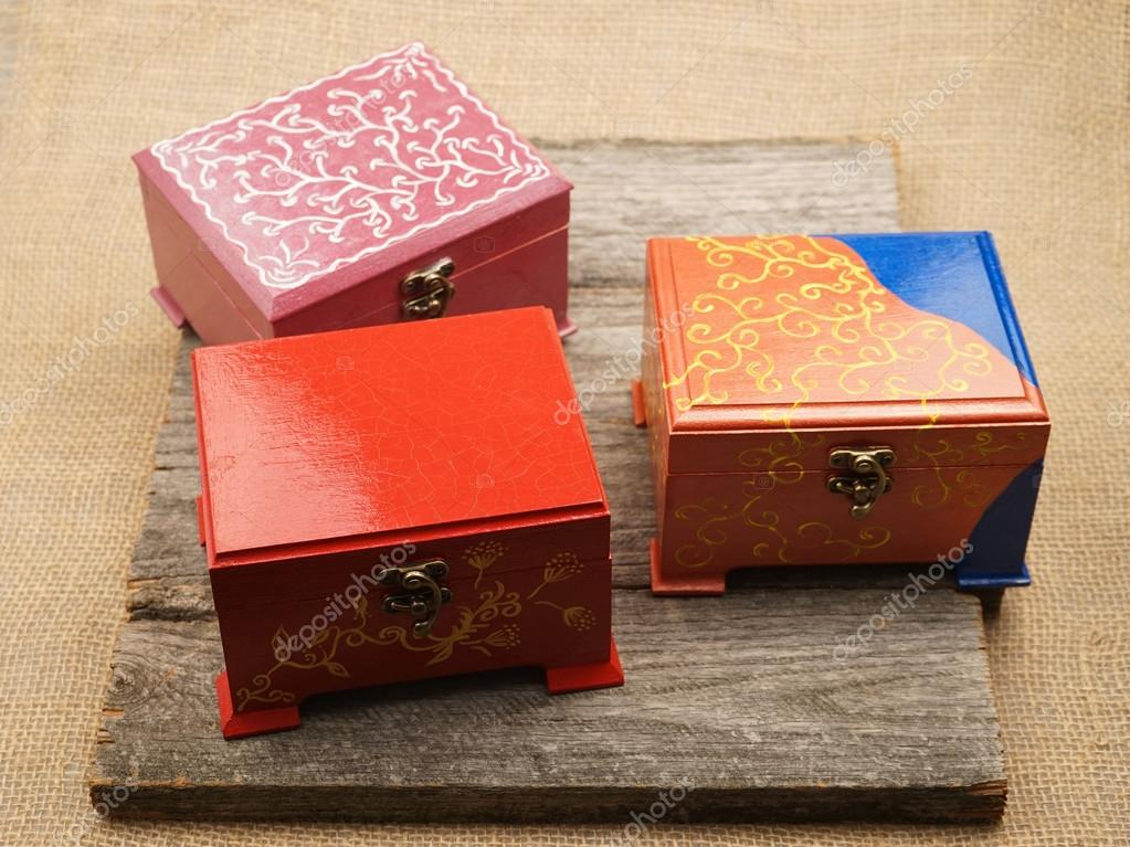 ideas para pintar cajas de madera Pintado Pequeas Cajas De Madera Para Mltiples Propsitos