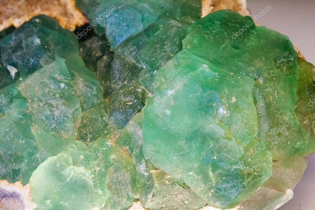 Beautiful crystals, minerals and stones - colors and textures
