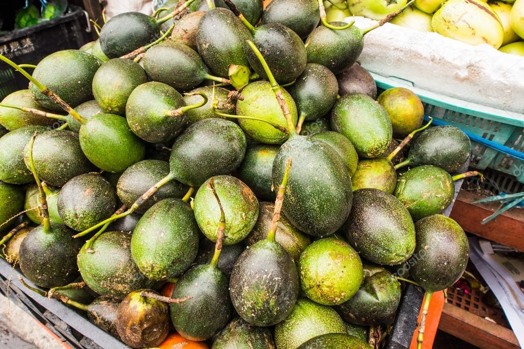 Fresh betel nut for sale in the market  (Areca catechu