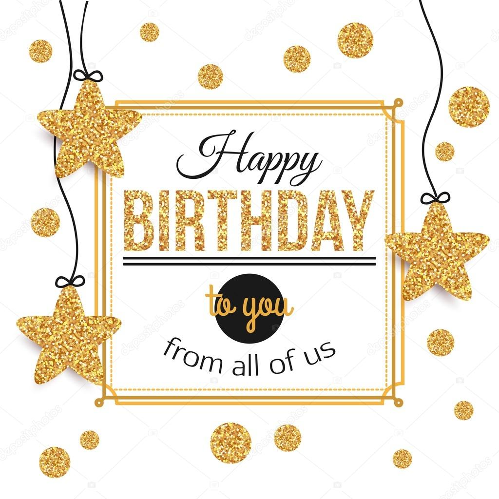 Birthday background with gold stars polka dots birthday gold birthday background with gold stars polka dots birthday gold texthappy birthday stopboris Choice Image