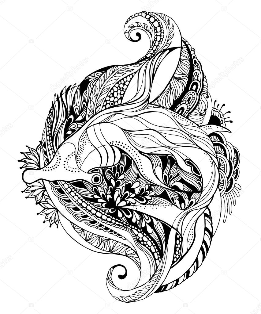 hammerhead shark tattoo design hammerhead shark