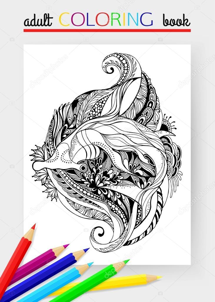 Tiburón martillo para colorear | Tiburón martillo - diseño del ...