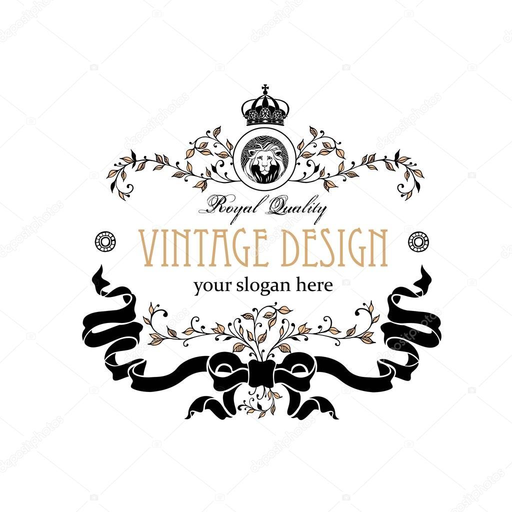 Monogram Design Elements Prestige Logo Designs Elegant