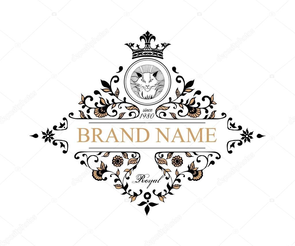Monogram design elements prestige logo designs elegant line art elegant line art logo design for restaurant hotel heraldic jewelry fashion royalty cafe wedding invitation business card vector illustration stopboris Gallery