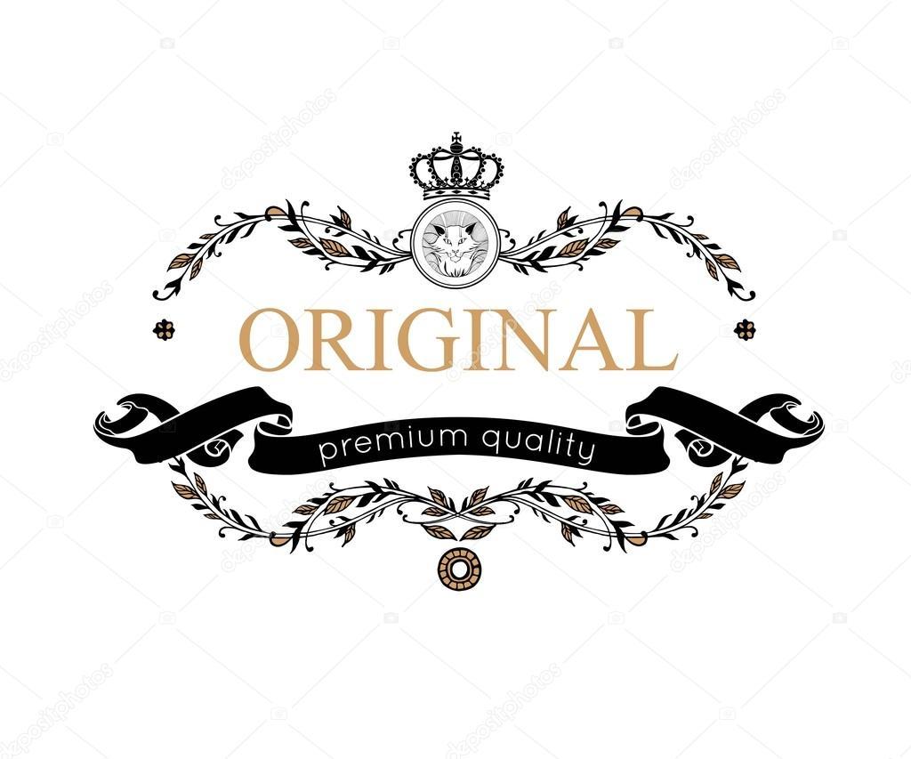 Monogram design elements. Prestige Logo Designs. Elegant line art logo design for Restaurant, Hotel, Heraldic, Jewelry, Fashion, Royalty, Cafe, Wedding invitation, Business card. Vector illustration.