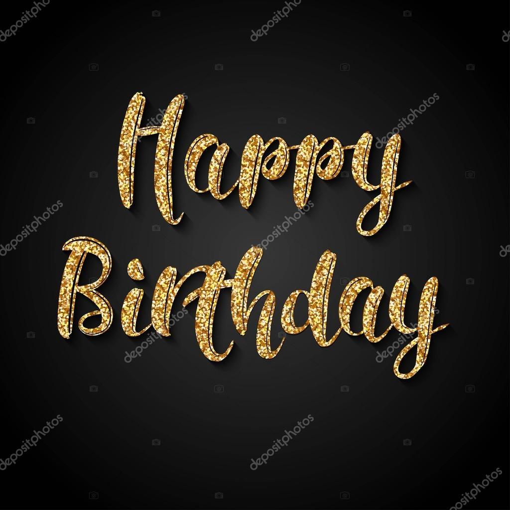 Поздравления на золотой день рождения