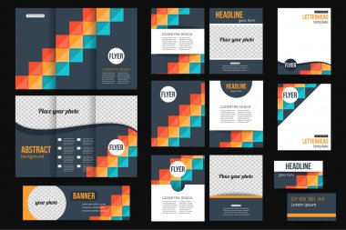 Business stationery templates
