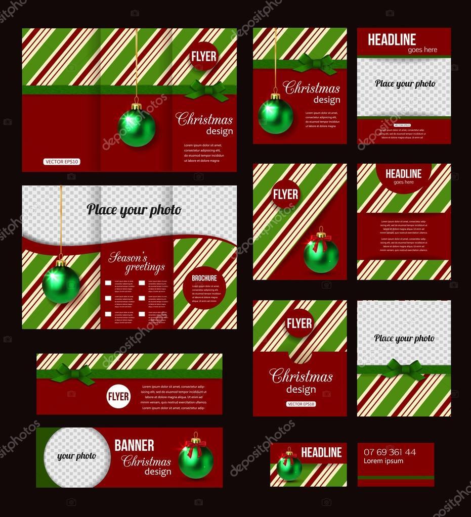 Christmas corporate  templates