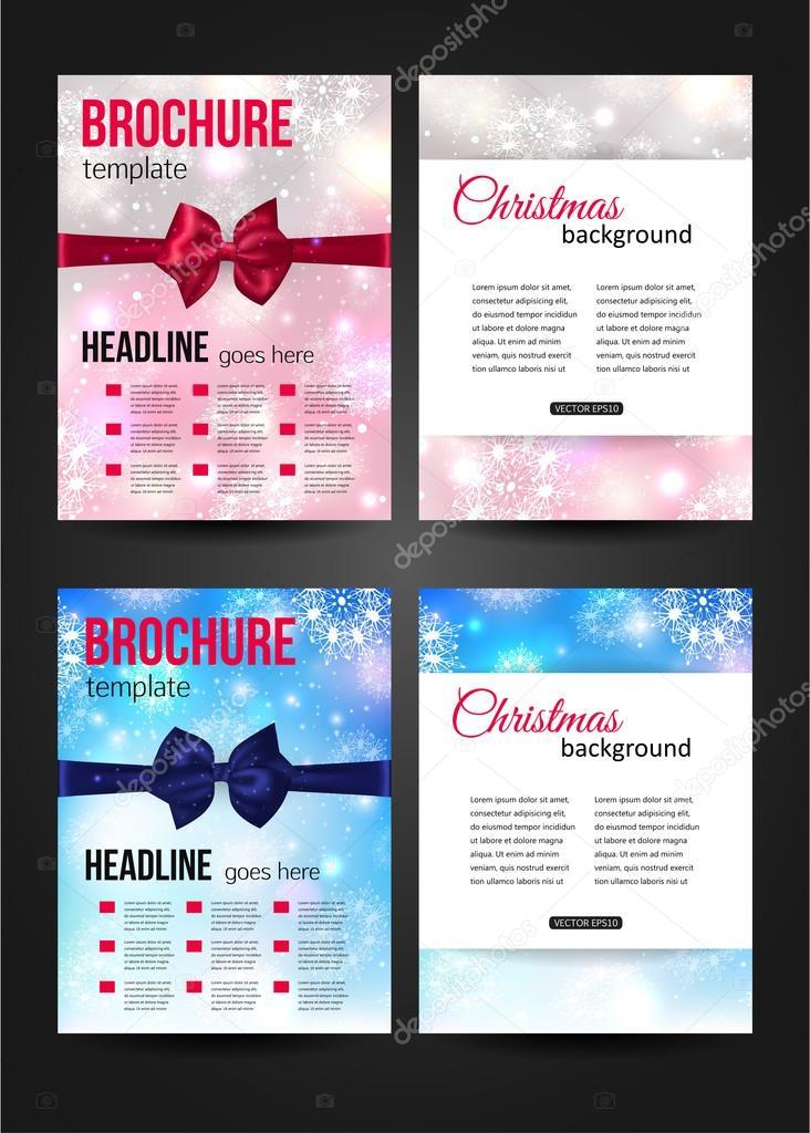Set of Christmas  templates.
