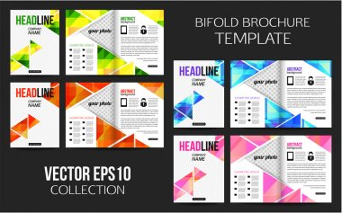 Corporate business stationery brochure templates