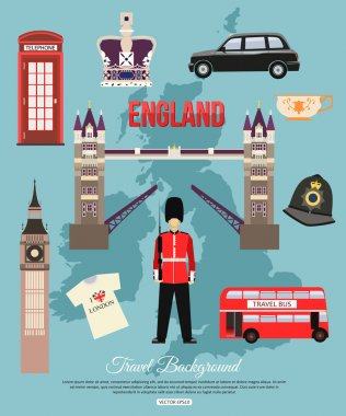 England travel background